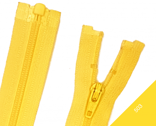 Reißverschluss teilbar Kunststoffspirale 3mm