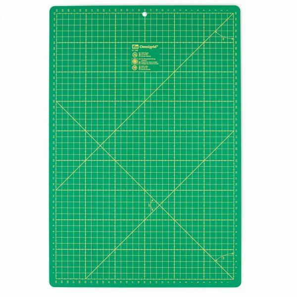 Schneiderunterlage cm/inch-Einteilung