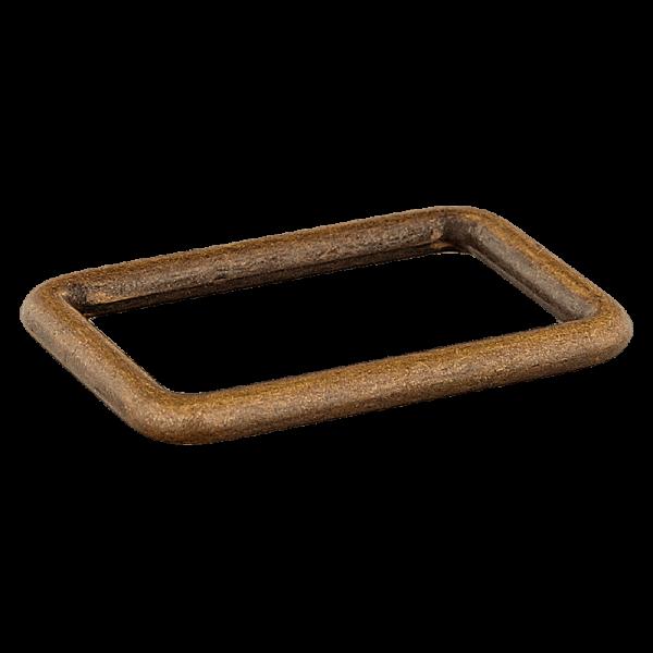 Rechteck Ring von Union Knopf