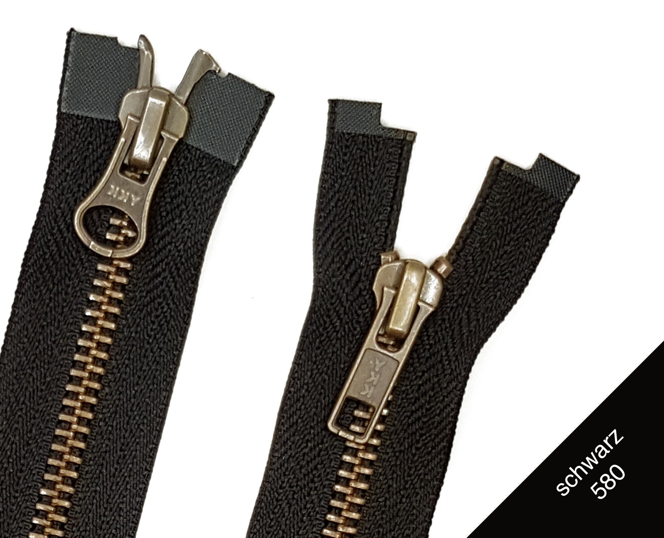 YKK Reißverschluss Vislon® nicht teilbar silber 5 mm 20 cm