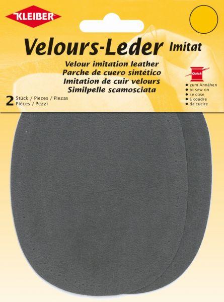 Velours-Leder Imitat - Verschiedene Farben