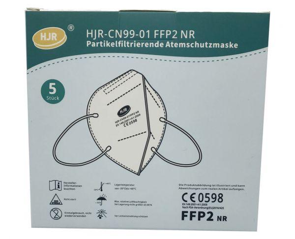Atemschutzmaske FFP2 Mundschutz sofort lieferbar (5 Stk.)